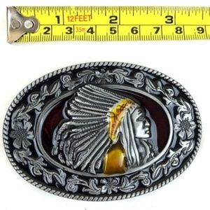 Other - Indian belt buckle silver men women